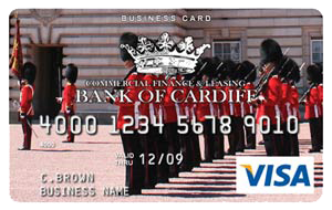 Bank of Cardiff Business Card