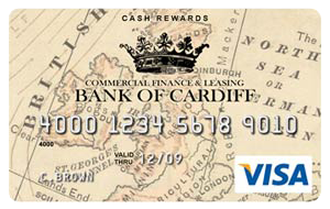 Bank of Cardiff Cash Rewards Card